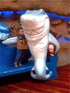 Shark Boy and Lava Girl?